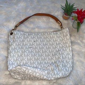 Michael Kors Vanilla Hobo  Bag